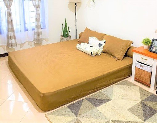 Kamar minimalis remaja tanpa kasur