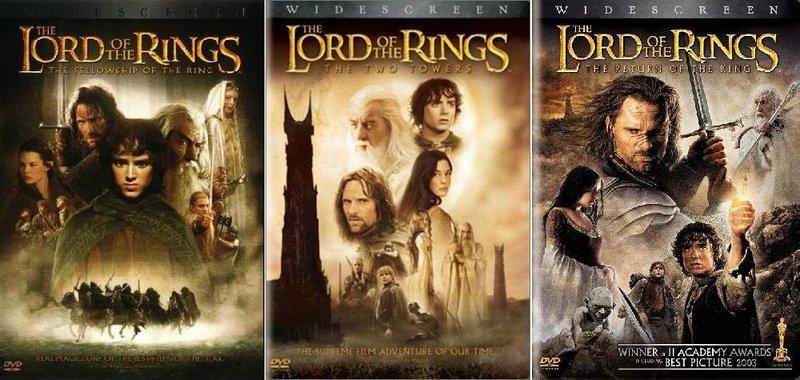 film kolosal terbaik Lord of the Rings