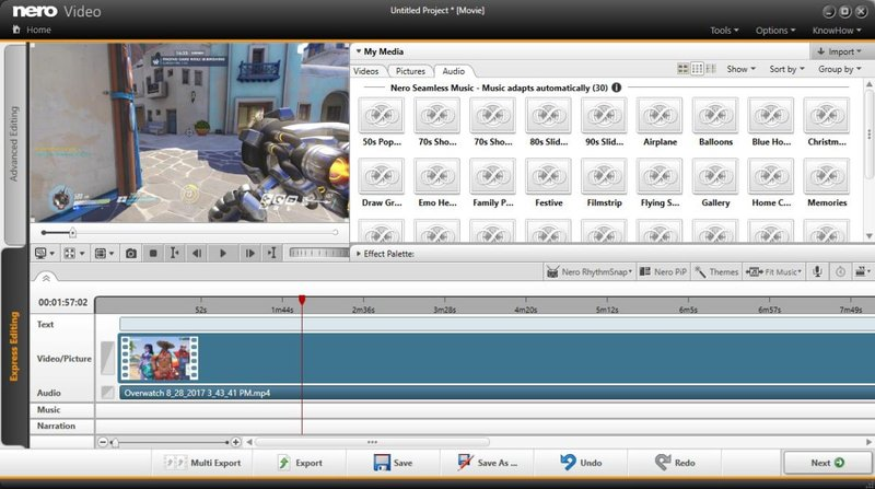 aplikasi edit video nero video