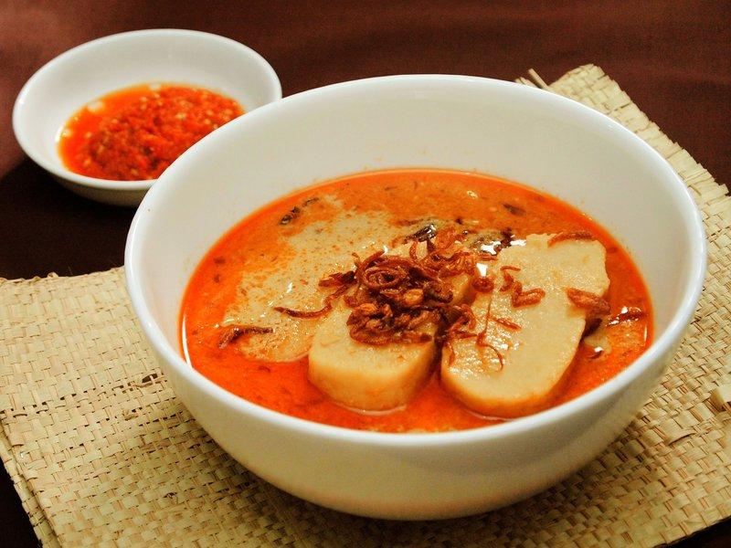makanan khas sumatera selatan laksan