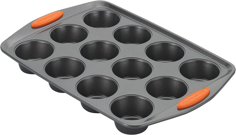 cara menyimpan mpasi: loyang muffin mini