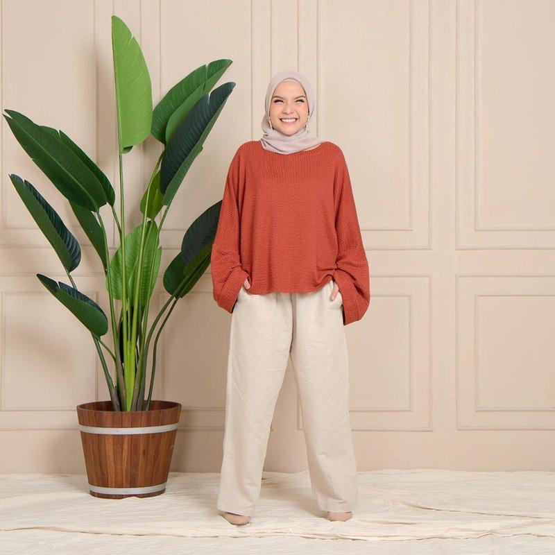 inspirasi fashion hijab artis Tasya Nur Medina-6