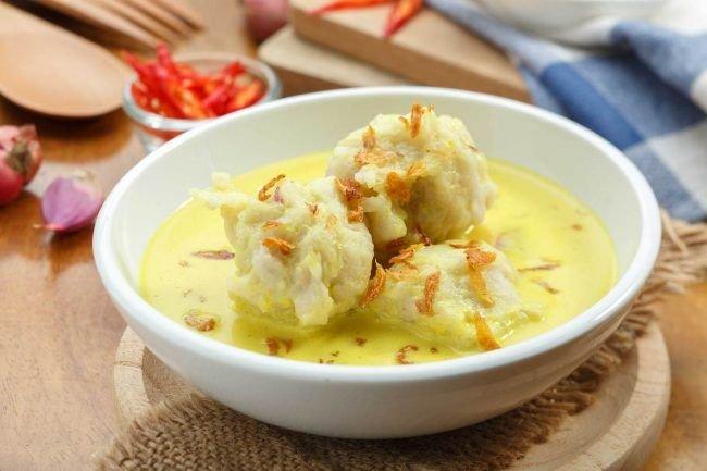 makanan khas sumatera selatan celimpungan