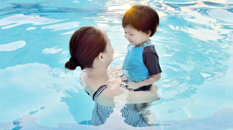 9. berenang