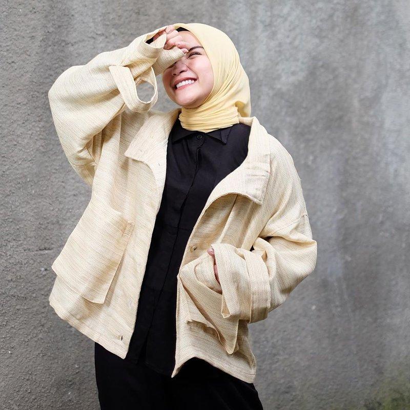 inspirasi fashion hijab artis Tasya Nur Medina-2