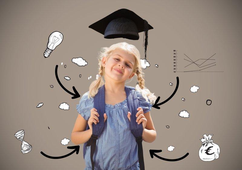Mendukung pertumbuhan otak anak