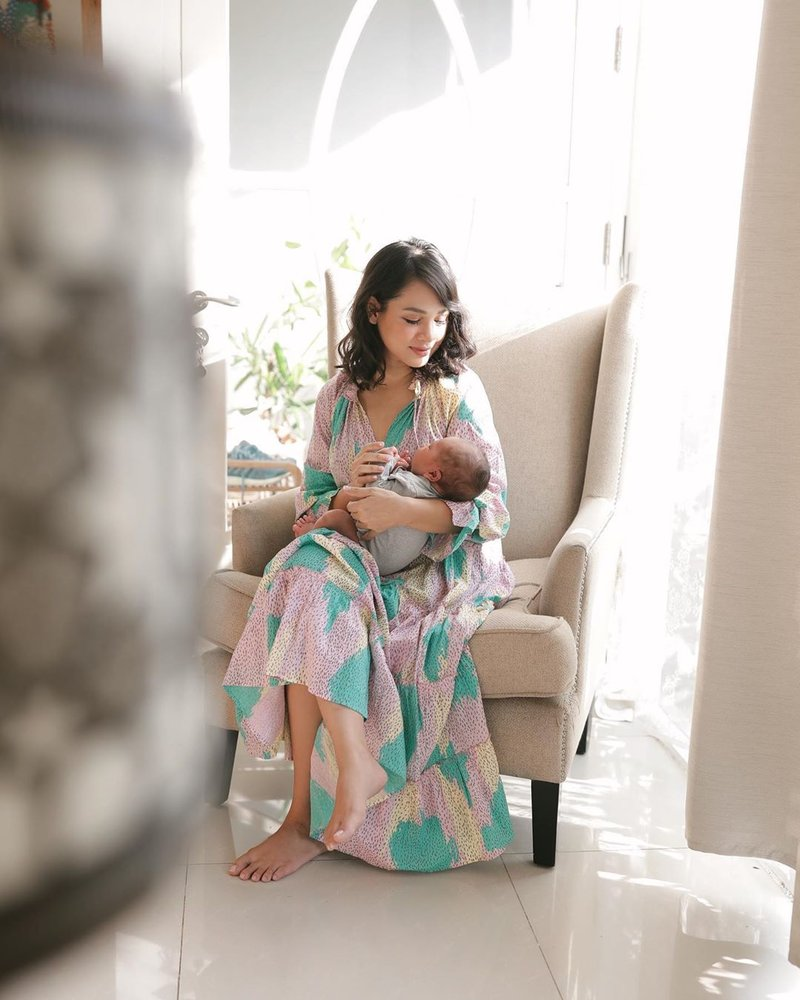 potret anak kedua Andien Aisyah-5