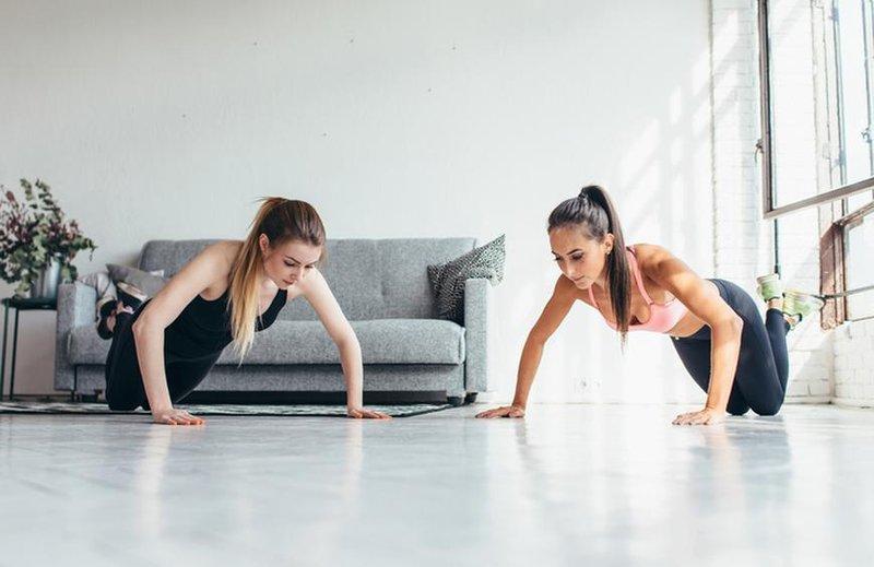 push up untuk mengencangkan otot dada