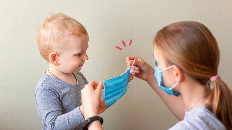 Penggunaan Face Shield pada Bayi, Efektif Cegah Covid-19?