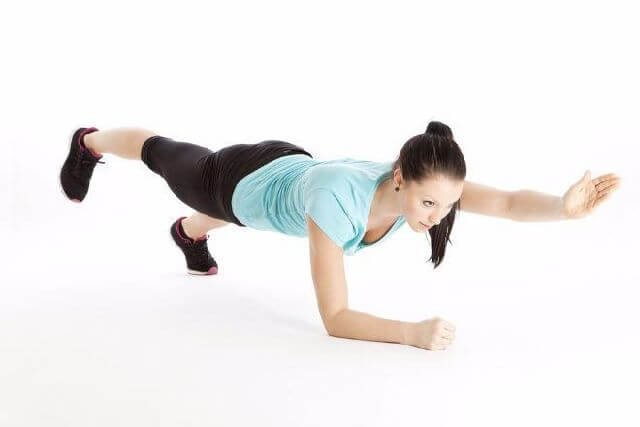 Arm and Leg Extensions Plank