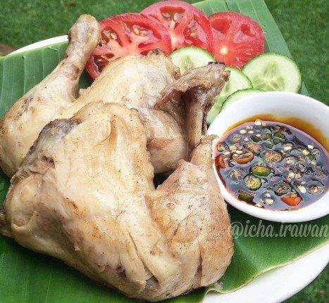 Resep Ayam Pop