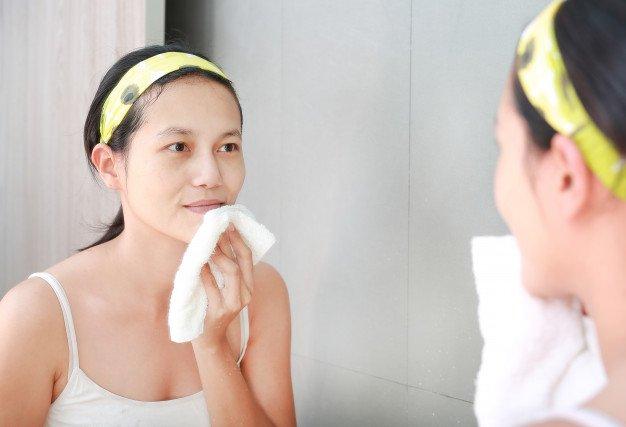 kebiasaan penyebab kulit kering