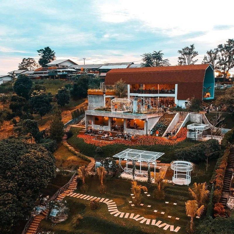Boda Barn jadi Tempat Ngopi di Bandung