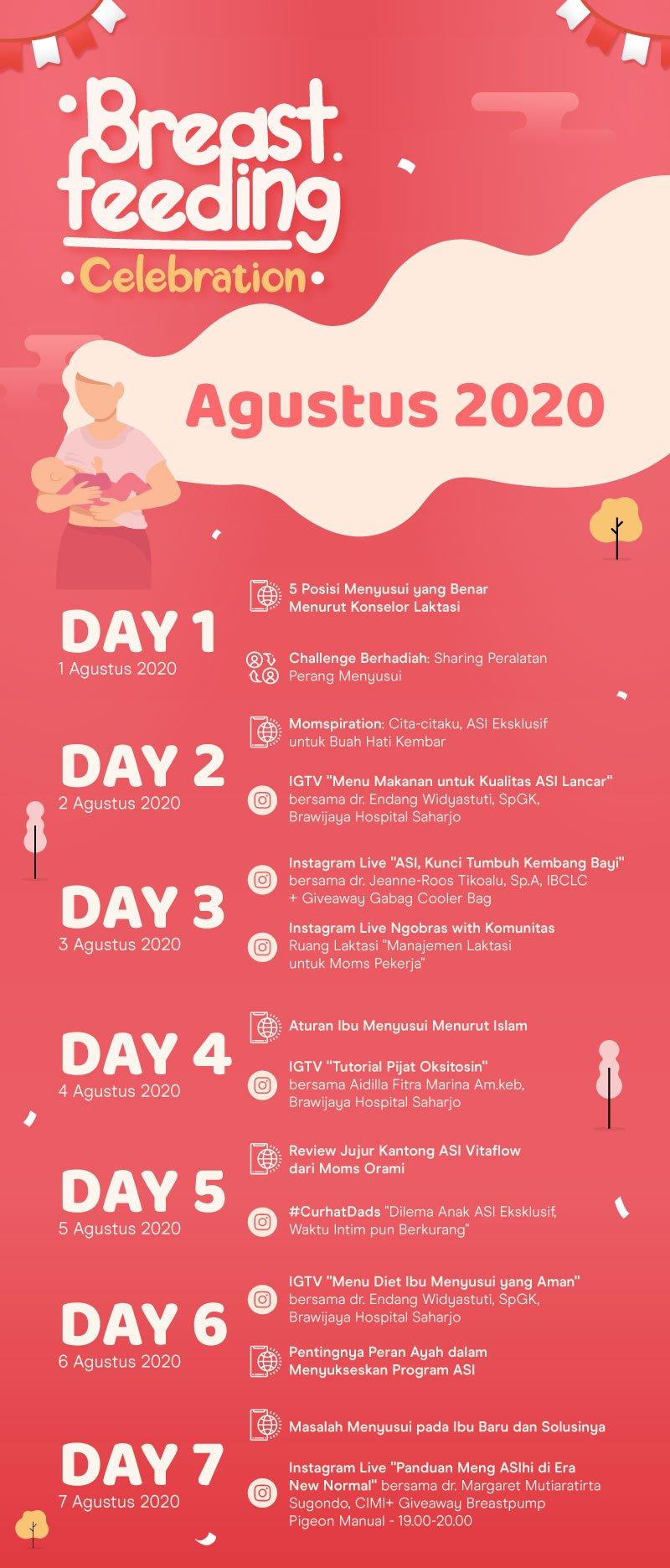 orami breastfeeding week celebration