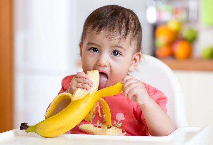pisang sebagai MPASI untuk bayi