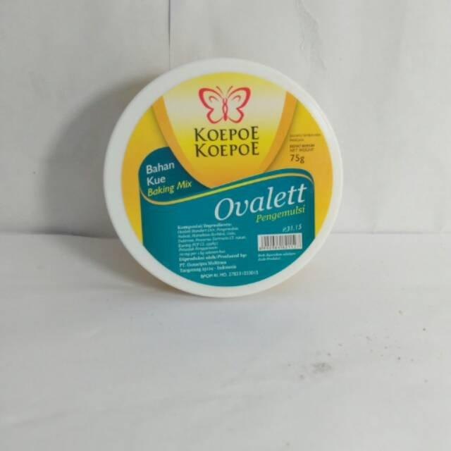 Cake Emulsifier Ovalet