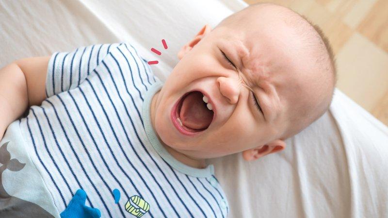 BAB bayi hijau: tumbuh gigi
