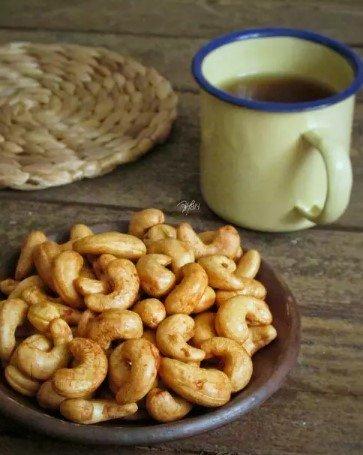 Resep Kacang Mete Goreng yang mudah