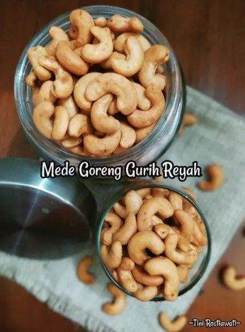 Resep Kacang Mete Goreng Gurih Renyah