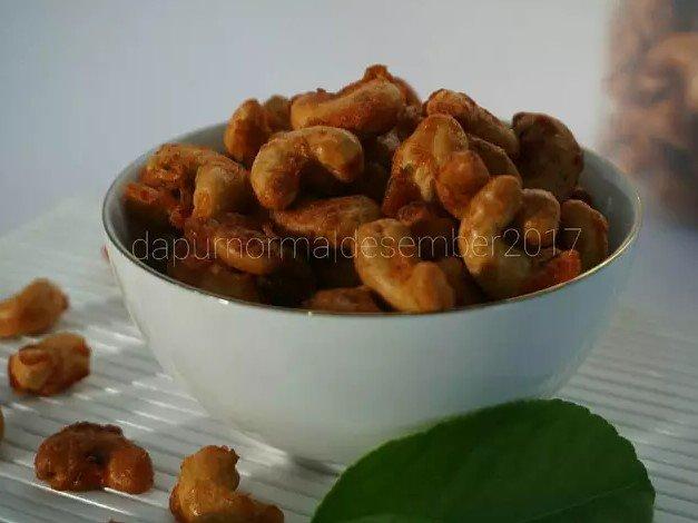 Resep Kacang Mete Pedas Manis