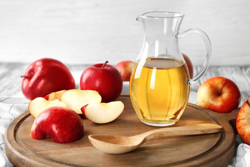 Cara menghilangkan komeda - baking soda dan cuka apel.jpg