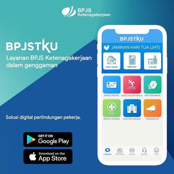 Cek Status BPJS Ketenagakerjaan Lewat Aplikasi