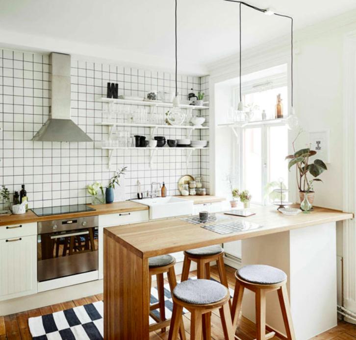 Dapur Minimalis Serba Putih