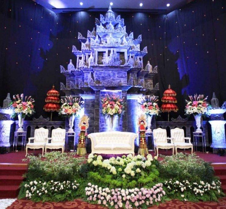 Dekorasi Pernikahan Bali Modern Tradisional