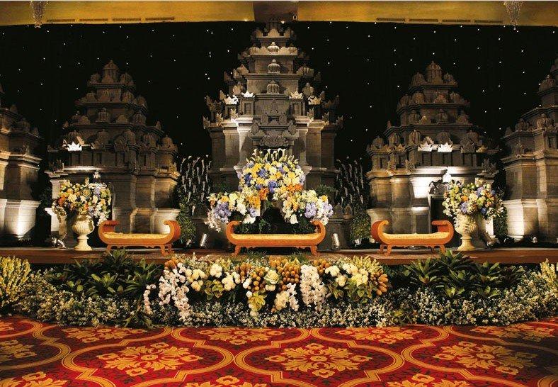 Dekorasi Pernikahan Bali Modern