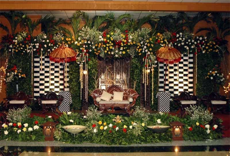 Dekorasi Pernikahan Bali Tradisional