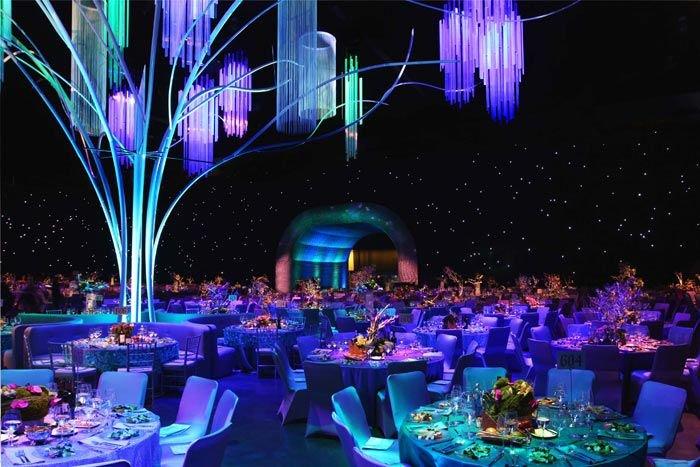 Dekorasi Pernikahan Modern Bertema Futuristic