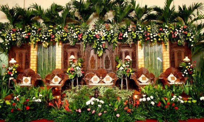 Dekorasi Pernikahan Simpel Ala Tradisional