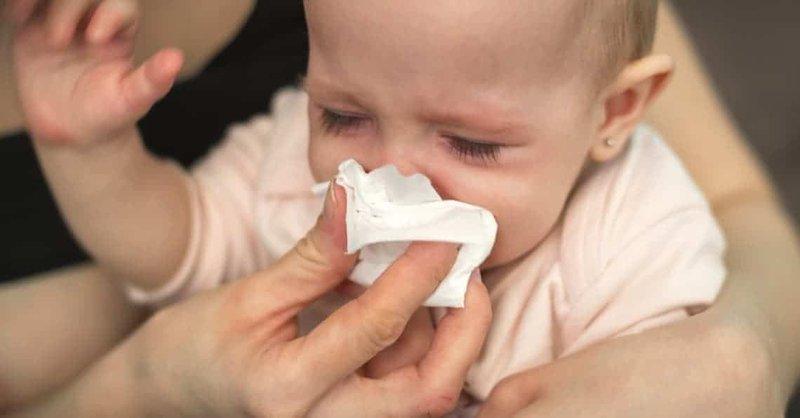 batuk bayi