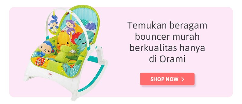beli bouncer di sini