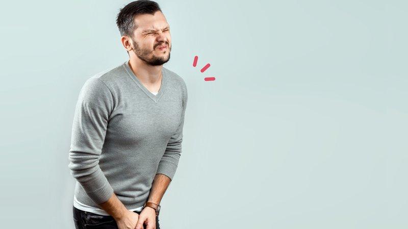 tanda pria mandul: testis