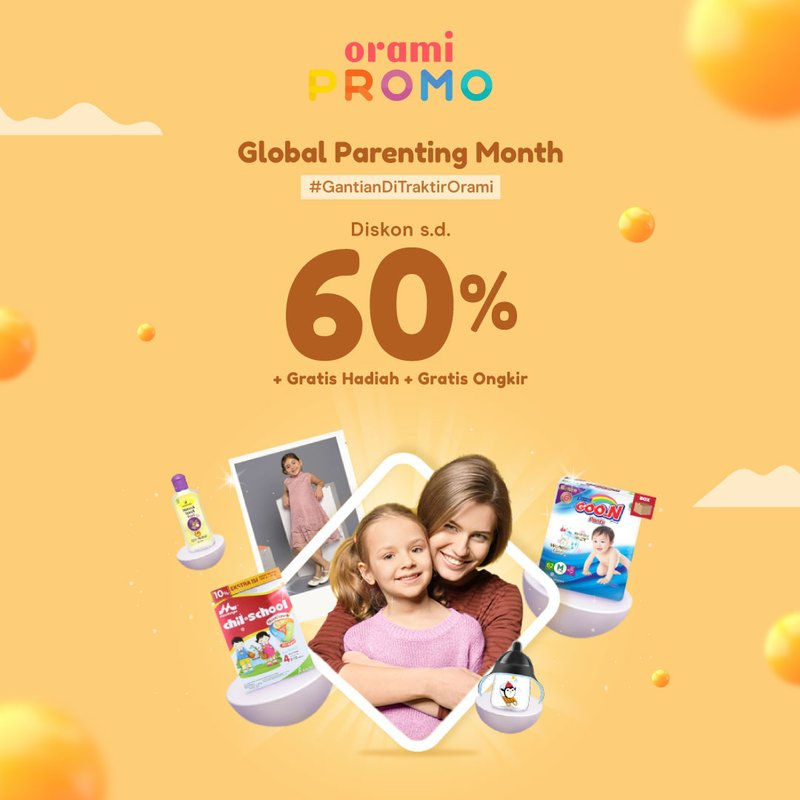 promo global parents commerce