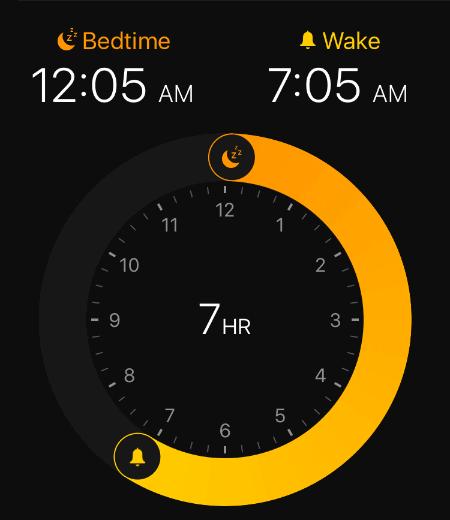 Waktu Tidur Konsisten