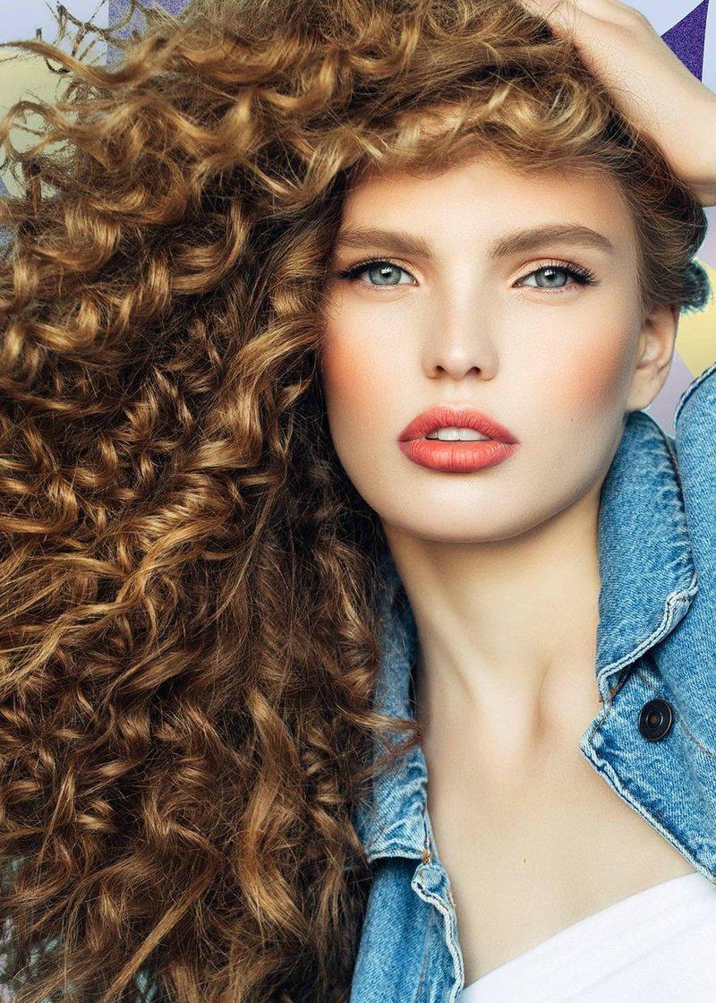tipe rambut