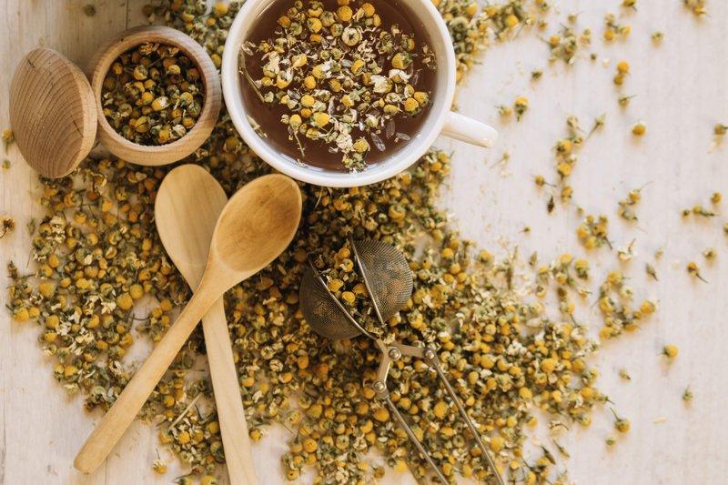 Ini Dia, Makanan yang  Membantu Mengendurkan Saraf dan Pikiran Anda 05 chamomile freepik com.jpg