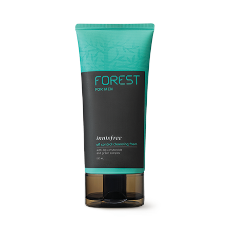 Innisfree Forest for Men Oil Control Cleansing Foam.png