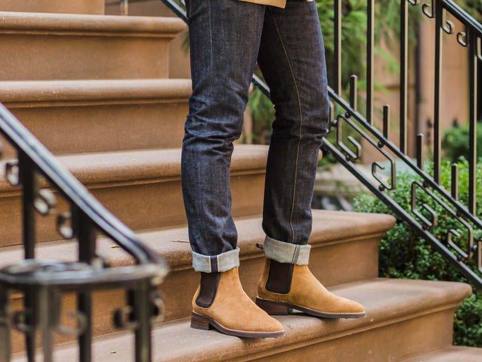 Jenis Sepatu Pria - Chelsea Boots