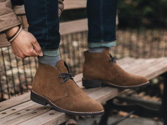 Jenis Sepatu Pria - Chukka