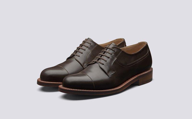 Jenis Sepatu Pria - Derby Shoes