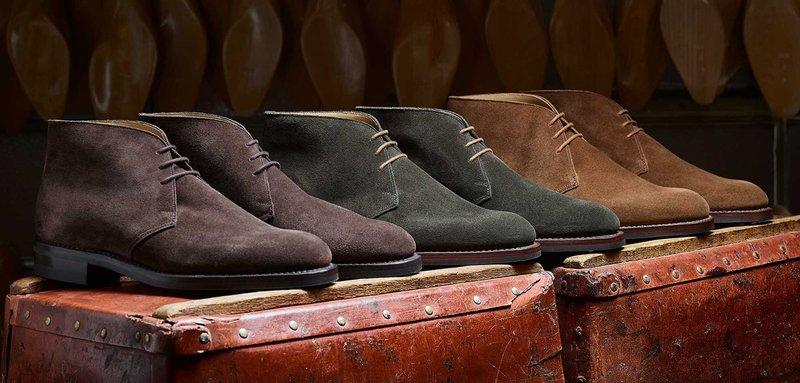 Jenis Sepatu Pria - Desert Boots