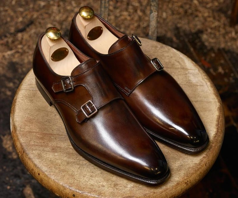 Jenis Sepatu Pria - Monk Shoes