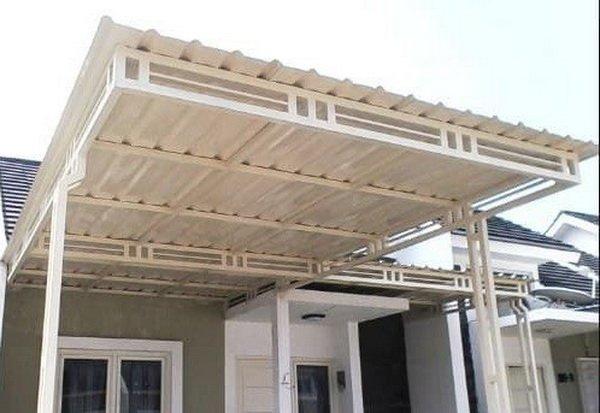 Jenis atap kanopi Alderon