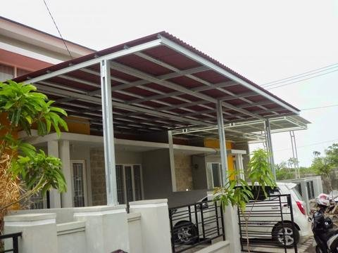 Jenis atap kanopi go green