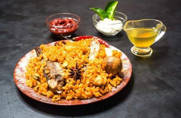 Makanan khas Arab, Foto : Orami Photo Stock