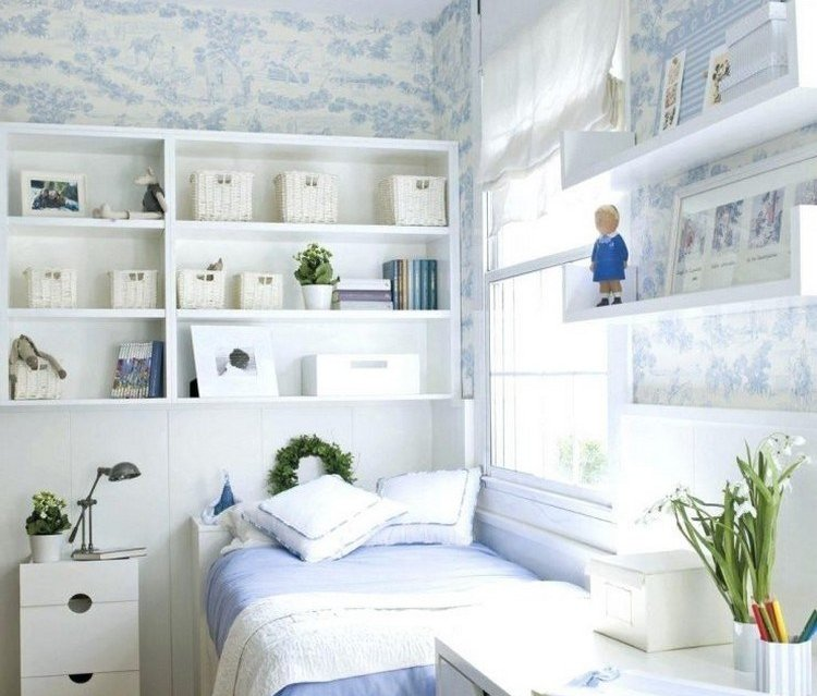 Kamar Minimalis Serba Putih