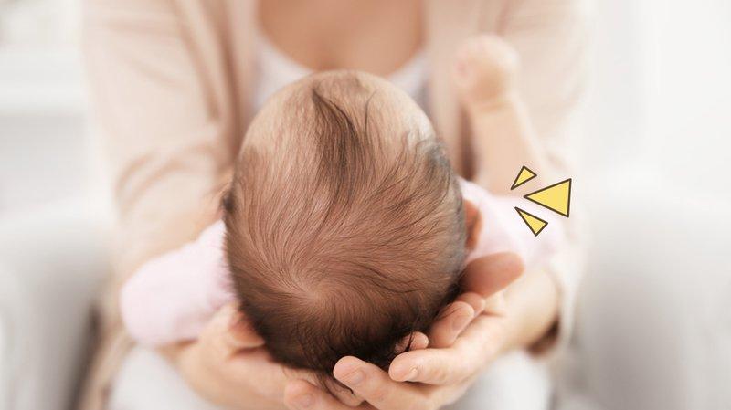 Mencegah Benjolan di Kepala Bayi